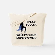 Soccer Superhero Tote Bag