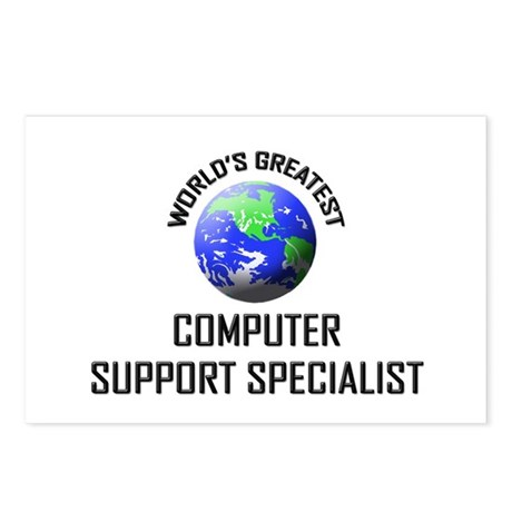 World's Greatest COMPUTER SUPPORT SPECIALIST Postc