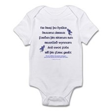 Beowulf's Dragons Infant Bodysuit