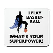 Basketball Superhero Mousepad