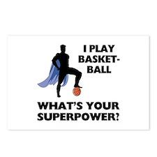 Basketball Superhero Postcards (Package of 8)