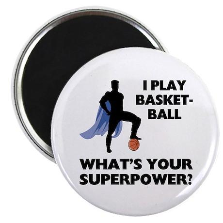 Basketball Superhero Magnet