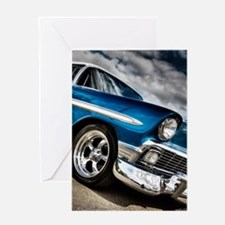 Retro car Greeting Cards