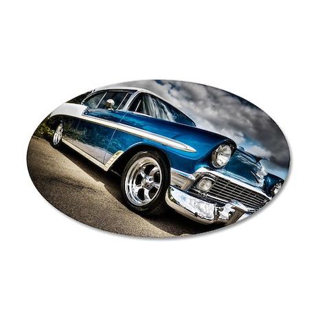 retro car wall sticker by yourluggage