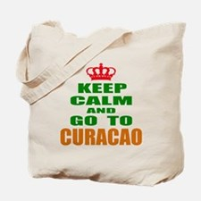 Keep calm and go to Curacao Tote Bag