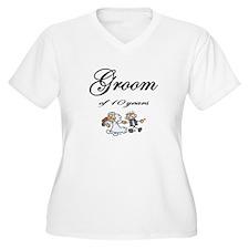 Groom of 10 Years Anniversary Gifts T-Shirt