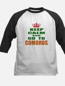 Keep calm and go to Comoros Tee