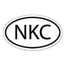 NKC Oval Decal