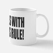 Girls With Guns Rule Small Small Mug