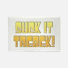 Suck it Trebek! Rectangle Magnet
