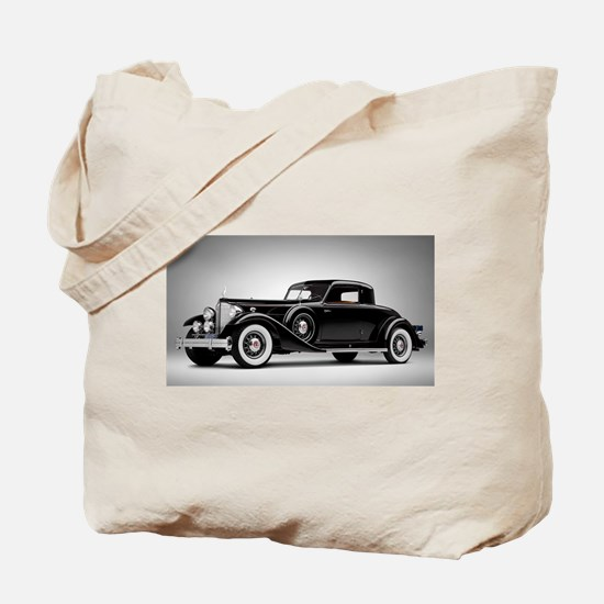 Vintage Retro Car Tote Bag