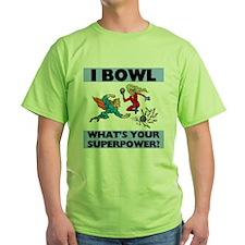 Bowling Superheroes T-Shirt
