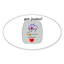 Got Joules? Oval Decal