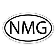 NMG Oval Decal