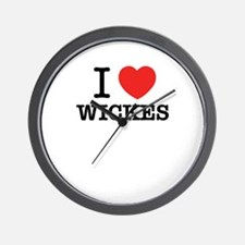 I Love WICKES Wall Clock