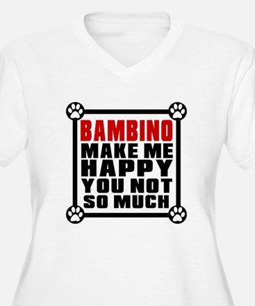 Bambino Cat Make T-Shirt