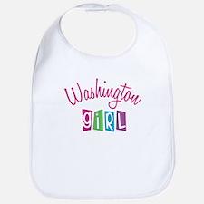 WASHINGTON GIRL! Bib