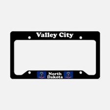 Valley City ND License Plate Holder