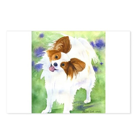 Papillon Bella Postcards (Package of 8)