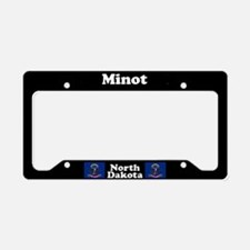Minot ND License Plate Holder