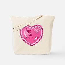 I Love My Abuelos Tote Bag