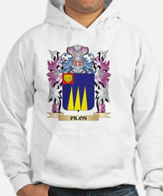 Pilon Coat of Arms - Family Cres Hoodie