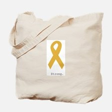 Gold. Strong Tote Bag