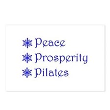 Cute Pilates holiday Postcards (Package of 8)