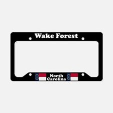 Wake Forest NC License Plate Holder