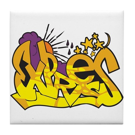 Graffiti - Express Tile Coaster