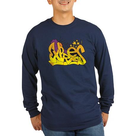 Graffiti - Express Long Sleeve Dark T-Shirt