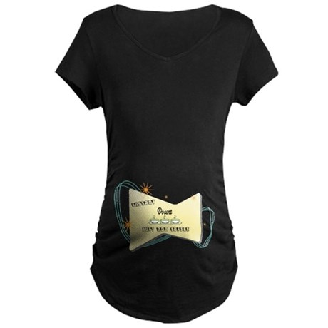 Instant Docent Maternity Dark T-Shirt