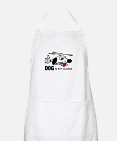 DOG is my co-pilot BBQ Apron