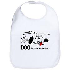 DOG is my co-pilot Bib