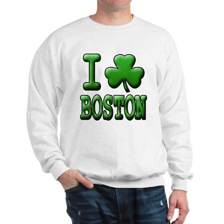 I Shamrock Boston - Sweatshirt