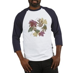 Falling Leaves Baseball Jersey