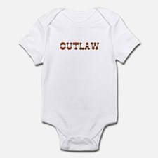 outlaw Infant Bodysuit