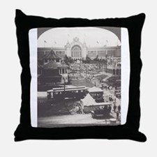 Agriculture Building Throw Pillow