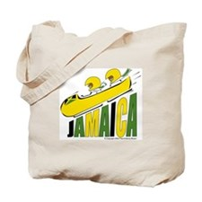 Jamaican Bobsled Tote Bag