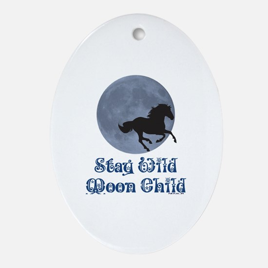 Cute Creative baby shower Oval Ornament