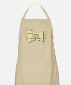 Instant Cymbal Player BBQ Apron