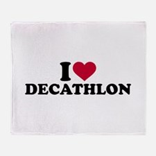 I love Decathlon Throw Blanket