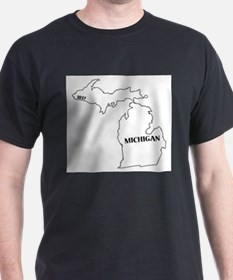 Michigan State and Date T-Shirt