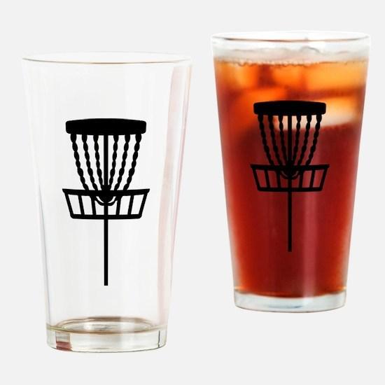 Disc golf Drinking Glass