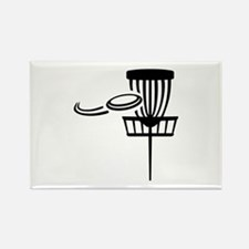 Disc golf Rectangle Magnet (100 pack)