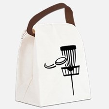 Disc golf Canvas Lunch Bag