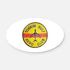 Tonkin Gulf Aero Club Oval Car Magnet