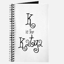 K Is For Katya Journal