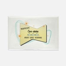 Instant Cross stitcher Rectangle Magnet (10 pack)
