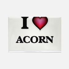 I Love Acorn Magnets